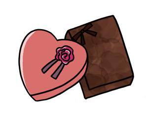 バレンタインのチョコ